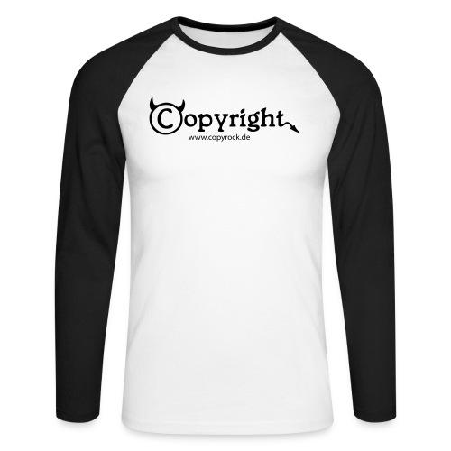 logo spreadshirt 2 - Männer Baseballshirt langarm
