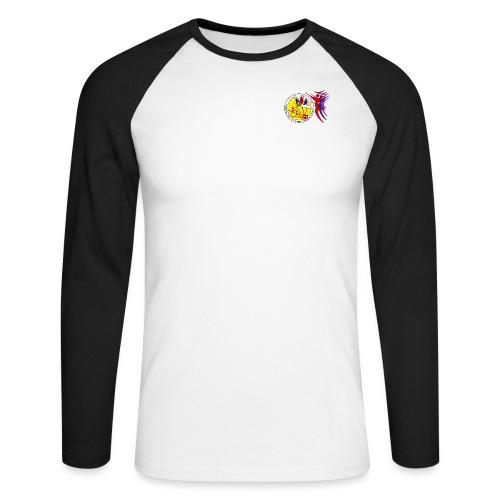 GCG Logo - Männer Baseballshirt langarm