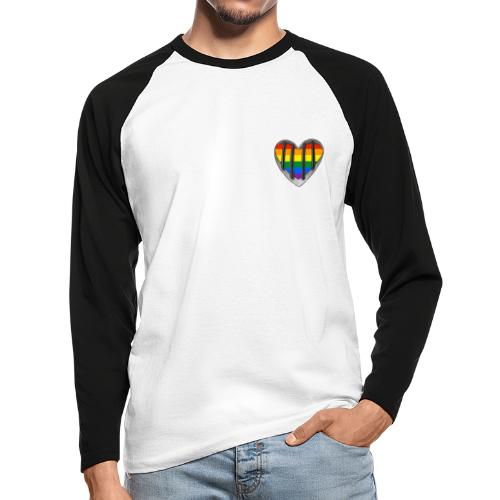 Coming Out - Männer Baseballshirt langarm
