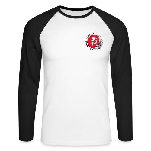 Logo2015 tshirt noir png - T-shirt baseball manches longues Homme