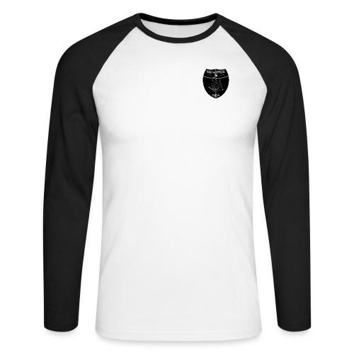 vallalogo black - Männer Baseballshirt langarm