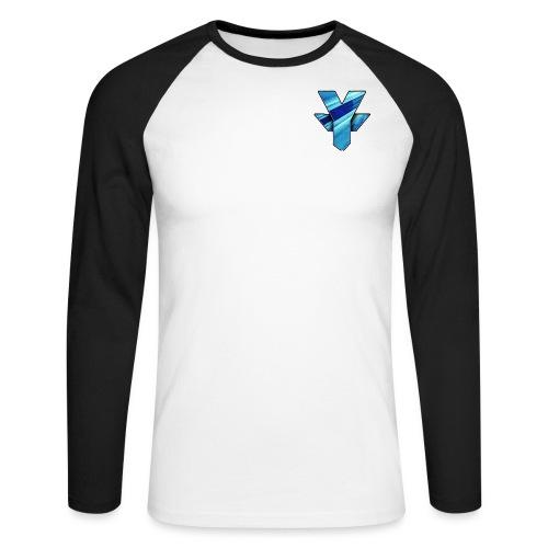 Logo For T Shirt png - Men's Long Sleeve Baseball T-Shirt