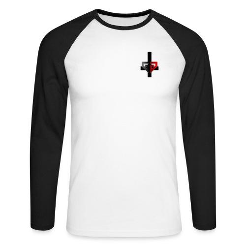 GGDuane Logo - Men's Long Sleeve Baseball T-Shirt