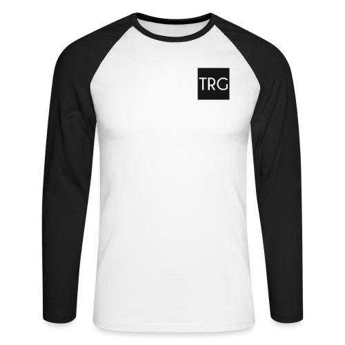 ShirtLogo png - Men's Long Sleeve Baseball T-Shirt