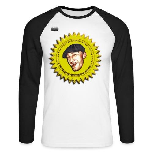 PuuCe Back - Men's Long Sleeve Baseball T-Shirt