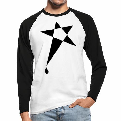 SWEATY STAR® Skateboarding Spread - T-shirt baseball manches longues Homme