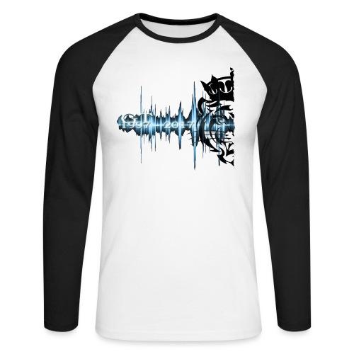 GT soundwave - Langermet baseball-skjorte for menn