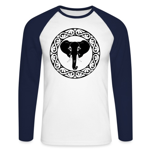 1st Edition SAFARI NETWORK - Men's Long Sleeve Baseball T-Shirt