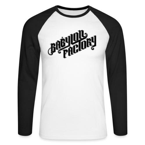 BABYLONFACTORY - Männer Baseballshirt langarm
