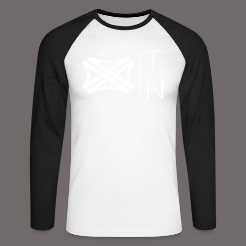 Tregion logo Small - Men's Long Sleeve Baseball T-Shirt