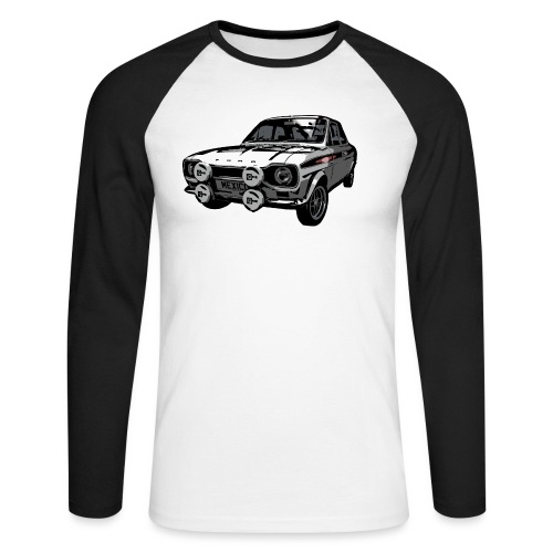 Mk1 Escort - Men's Long Sleeve Baseball T-Shirt