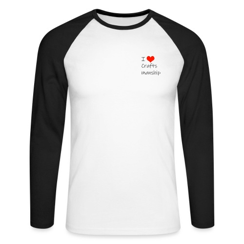 ILoveCraft - T-shirt baseball manches longues Homme