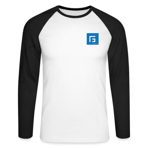 Fg - T-shirt baseball manches longues Homme