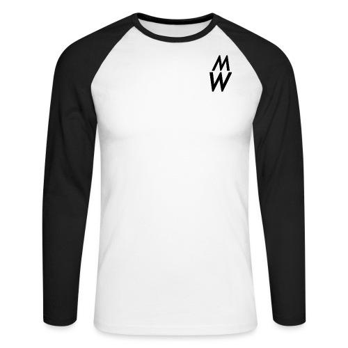bigb png - Men's Long Sleeve Baseball T-Shirt