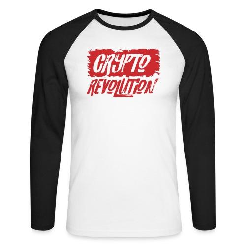 Crypto Revolution - Men's Long Sleeve Baseball T-Shirt