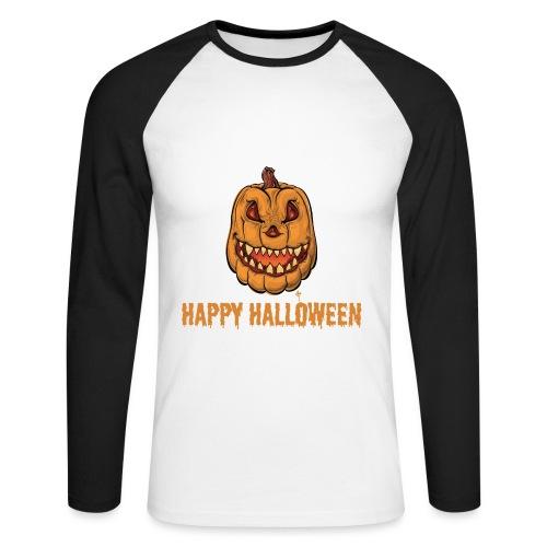 Halloween - Men's Long Sleeve Baseball T-Shirt