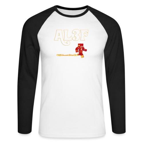 AL3F GAMER - Maglia da baseball a manica lunga da uomo