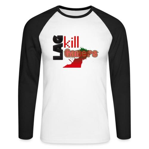 LAG Kills - Men's Long Sleeve Baseball T-Shirt