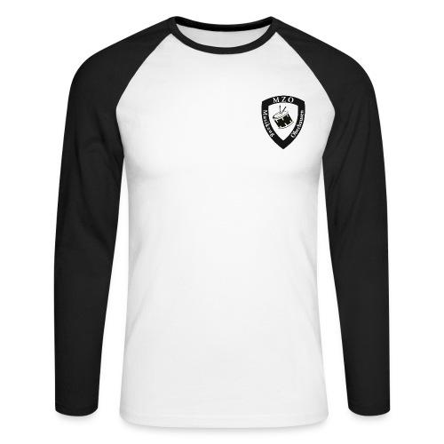 MZO Wappen - Männer Baseballshirt langarm