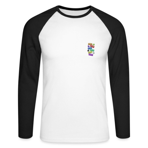 SA Mechanical Keyboard Keycaps Motif - Men's Long Sleeve Baseball T-Shirt