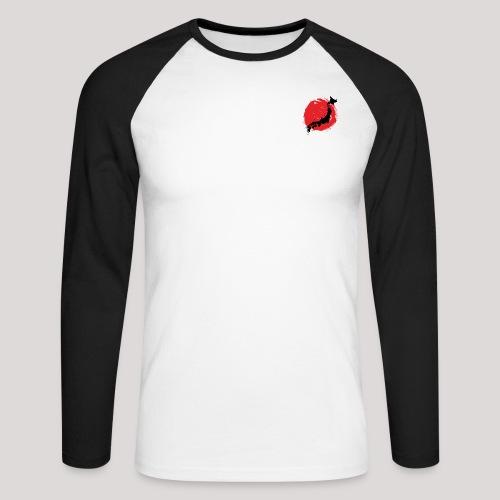 JapAphriias - T-shirt baseball manches longues Homme