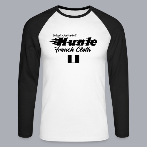 hunle Flame - T-shirt baseball manches longues Homme