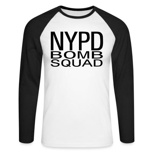 Bomb Squad - T-shirt baseball manches longues Homme
