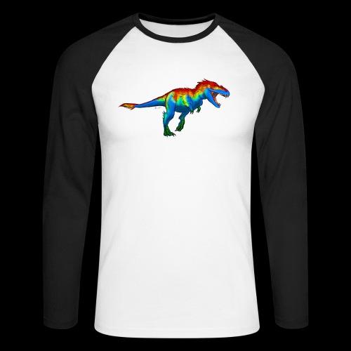 T-Rex - Men's Long Sleeve Baseball T-Shirt