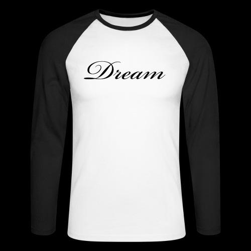 Dream Productions NR1 - Männer Baseballshirt langarm