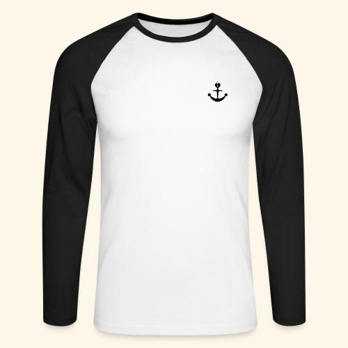love loyalty faith hope - Männer Baseballshirt langarm