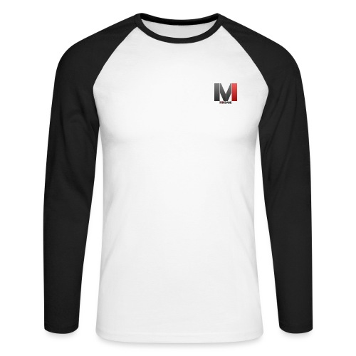 MrGank LOGO - Men's Long Sleeve Baseball T-Shirt