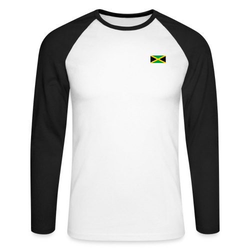 Jamaica - Men's Long Sleeve Baseball T-Shirt