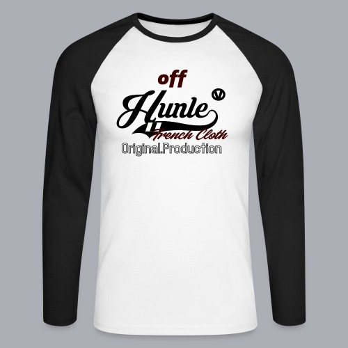 Hunle Veritable Collection n°2 - T-shirt baseball manches longues Homme