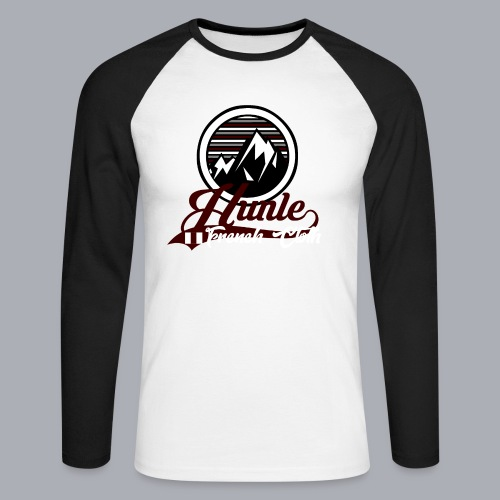 Hunle Graphic Mountain N°1 - T-shirt baseball manches longues Homme