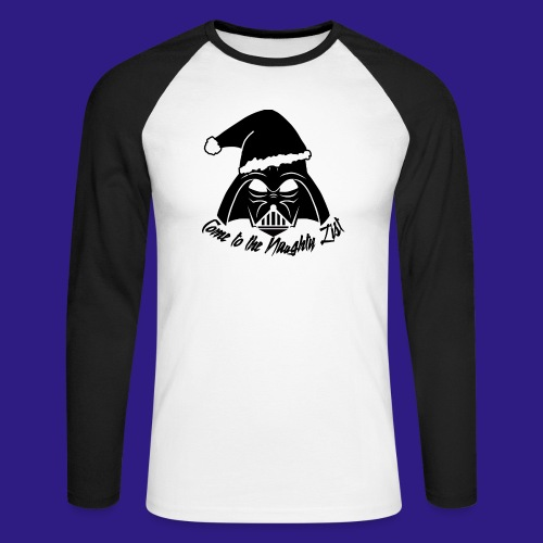 Vader's List - Men's Long Sleeve Baseball T-Shirt