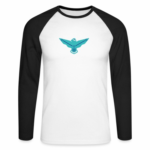 the nordic eagle merch - Langermet baseball-skjorte for menn