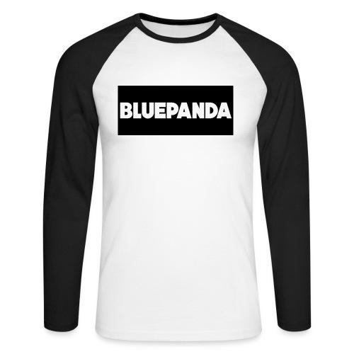BLUE PANDA - Men's Long Sleeve Baseball T-Shirt