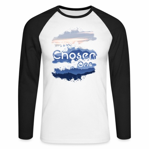 The Chosen One - Men's Long Sleeve Baseball T-Shirt