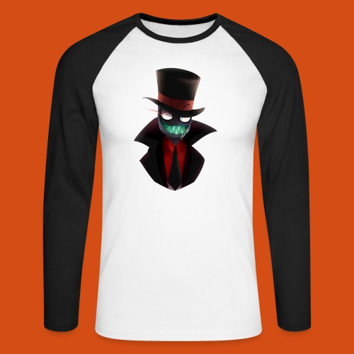 the blackhat - Mannen baseballshirt lange mouw