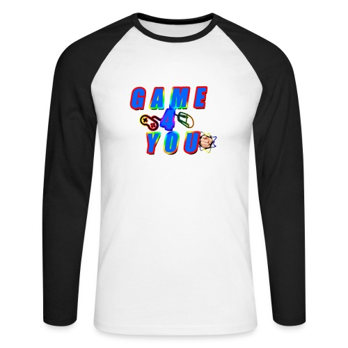 Game4You - Men's Long Sleeve Baseball T-Shirt