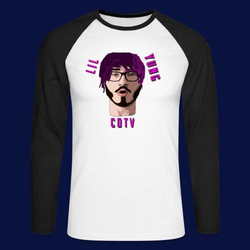 LIL YUNG CDTV - Men's Long Sleeve Baseball T-Shirt