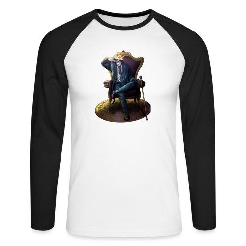 Bitcoin Monkey King - Gamma Edition - Männer Baseballshirt langarm