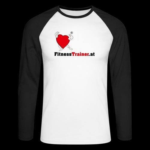 FitnessTrainer.at - Männer Baseballshirt langarm