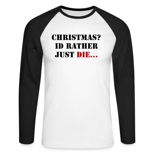 Christmas joy - Men's Long Sleeve Baseball T-Shirt