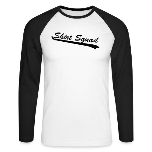 American Style - Men's Long Sleeve Baseball T-Shirt