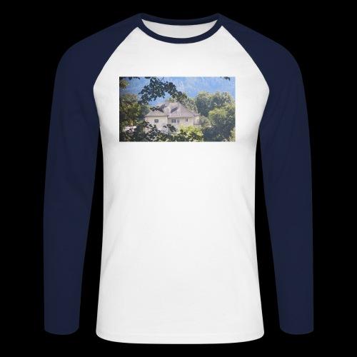 Altes Haus Vintage - Männer Baseballshirt langarm
