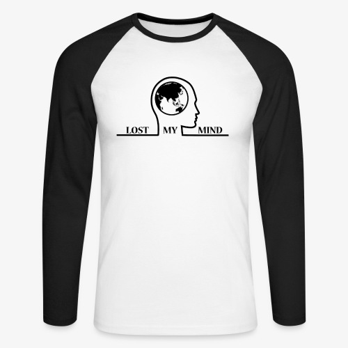 LOSTMYMIND - Men's Long Sleeve Baseball T-Shirt