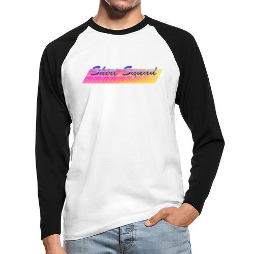 80's Shirt Squad - Men's Long Sleeve Baseball T-Shirt
