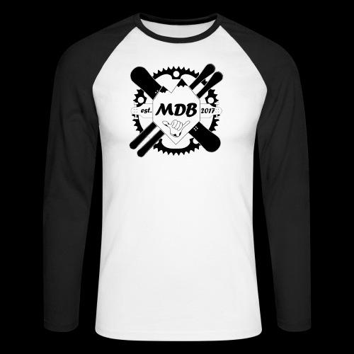 Madabe Logo Shirt - Männer Baseballshirt langarm