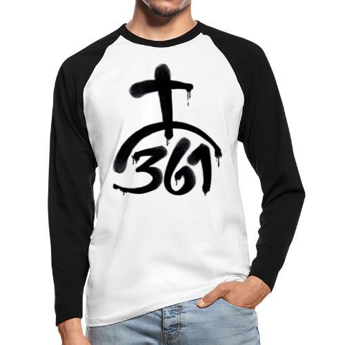 361Kreuzberg Fat Cap Shirt - Männer Baseballshirt langarm
